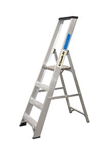 Climb It Aluminium Platform Stepladder - 5 Tread