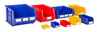 Rhino Heavy Duty Plastic Bins - 106w x 106d x 49h