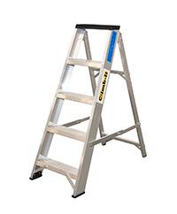 Climb It Aluminium Trade Swingback Stepladder - 4 Tread