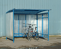 Industrial Cycle Shelter