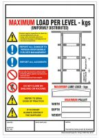 Weight Load Identification - Drive Thru Racking Weight Load