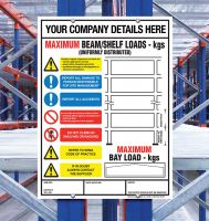 Weight Load Identification - Pallet Racking   Shelving Weight Load