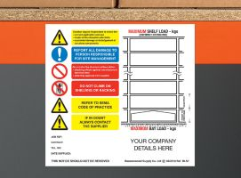 Weight Load Identification - Landscape Shelving Weight Load