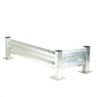 Heavy Duty Barrier System - Barrier - Galvanised - 610Mm