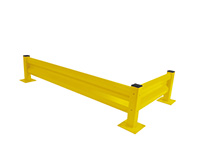 Heavy Duty Barrier System - Post - Yellow - 510mm