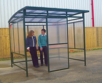 Smoking Shelters - Large - Optional Perch