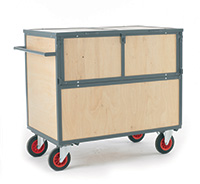Security Trolley - Wooden