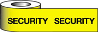 Barrier Warning Tape - 75mm x 100m - Security