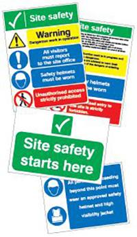 Site navigation sign pack
