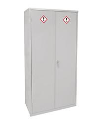 COSHH Cabinet - 1830 x 915 x 457mm  HxWxD  3 doors  2 shelves   Sump capacity 36L