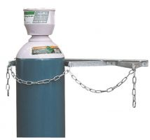 Storage Rack - Galvanised - 2 Cylinder Upto 270Mm