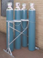 Double Sided Floor Stand - Painted - 6 Cylinder Upto 270Mm