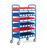 Container Trolley C/W 30 Containers