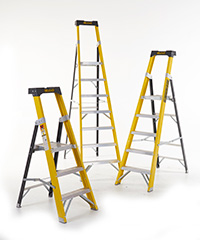 CLIMB-IT GLASS FIBRE PLATFORM STEP   Tool Tray