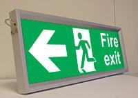 Slide in Frame  150x450mm  Safety Sign