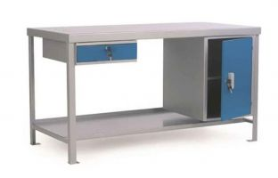 Heavy Duty Modular Workbenches - Lower Shelf - Plywood - For 2000 X 1500 Extension