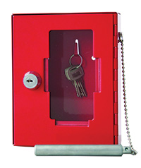 Key Box with Hammer and Chain