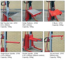 Roller Platform with stops for M220/E110 R /E100 E300 Lifters