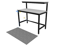 ESD Ready Workbenches - 1200mm wide