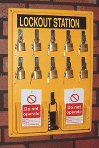 Lockout Station - Board Only 535 x 355mm
