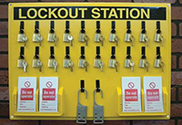 Lockout Station - Board Only 535 x 735mm