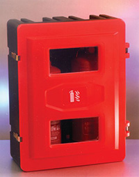 Fire Extinguisher Cabinet - Holds 2 x 9kg