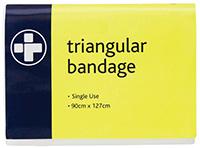 Single use triangular bandage