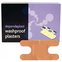 Pink Washproof Knuckle Plasters  Pk 100