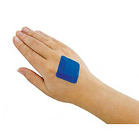 Blue Detectable Square Plasters  Pk of 100