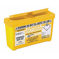 Sharps Disposal Container  1 litre