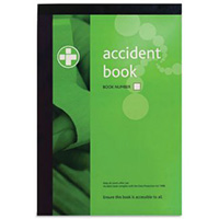 A4 Accident Reporting Book