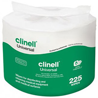 Clinell Universal Wipes  Refill for Bucket of 225 Wipes