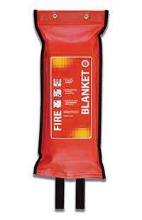 Flat pack fire blanket - 1200 x 1200mm