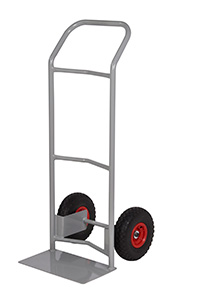 Fort Steel Sack Truck - Reach Compliant Wheels - Concave   Loop Handle