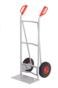 Fort Steel Sack Truck - Reach Compliant Wheels - Concave   Axle Supports