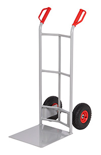 Fort Steel Sack Truck - Reach Compliant Wheels - Concave   Lge Toe
