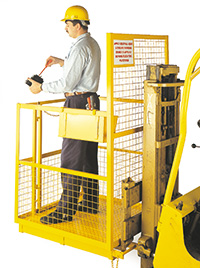 HEAVY DUTY FORK LIFT SAFETY CAGE - Mobile