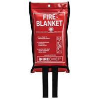 Flat pack fire blanket - 1000 x 1000mm