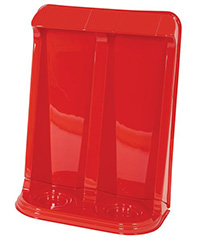 Classic Fire Extinguisher Stand - 2 Extinguishers