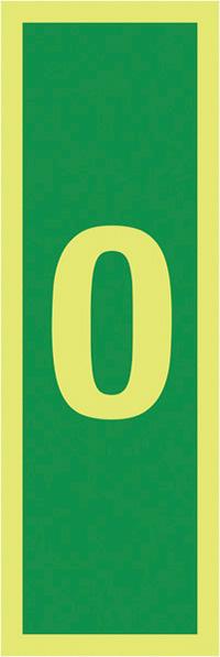 0150x50mm 1.2mm Nite Glo Rigid Safety Sign