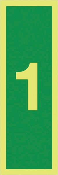 1150x50mm 1.2mm Nite Glo Rigid Safety Sign