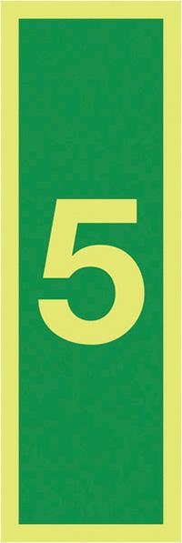 5150x50mm 1.2mm Nite Glo Rigid Safety Sign