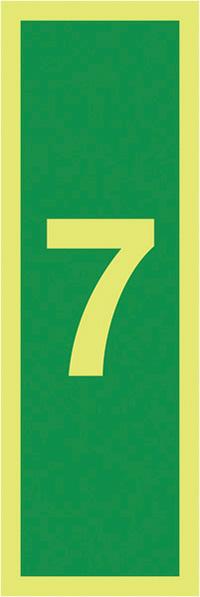 7 -Nite Glo Rigid 150x50mm 1.2mm Nite Glo Rigid Safety Sign