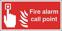 Thumbnail Fire Alarm Call Point  210x148mm Self Adhesive Vinyl Safety Sign