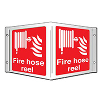 Fire hose reel Projecting 3D Sign 200x400mm  Safety Sign