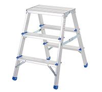 Folding Aluminium Handy Steps - 3 Treads