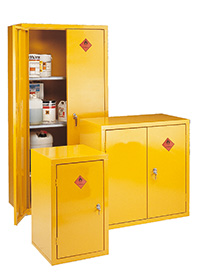 Hightly Flamable Storage Cabinets - FSC Range - Floor Stand