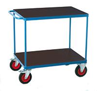 Fort 2 Shelf Trolley  Phenolic  850 X 500