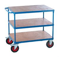 Fort 2 Shelf Trolley  Plywood  850 X 500