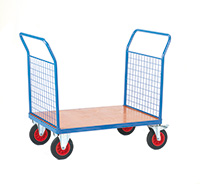 Fort Platform Truck  Plywood Board  2 Mesh Ends  1200 X 800